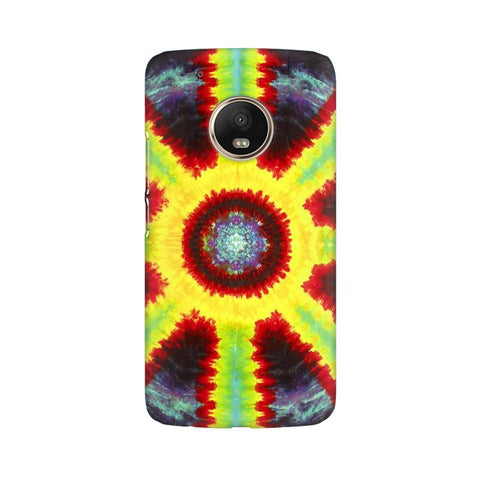 Tie & Die Pattern Moto G5 Phone Cover