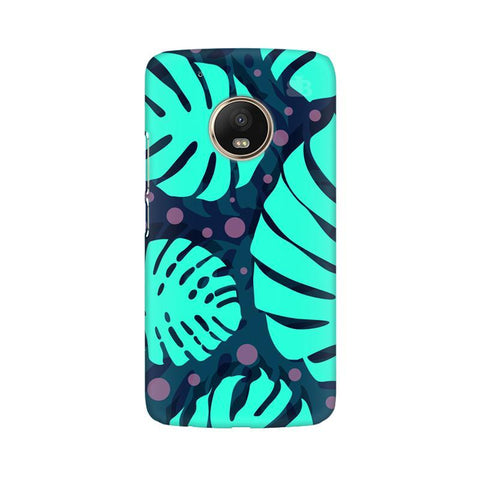 Tropical Leaves Pattern Moto G5 Phone Cover