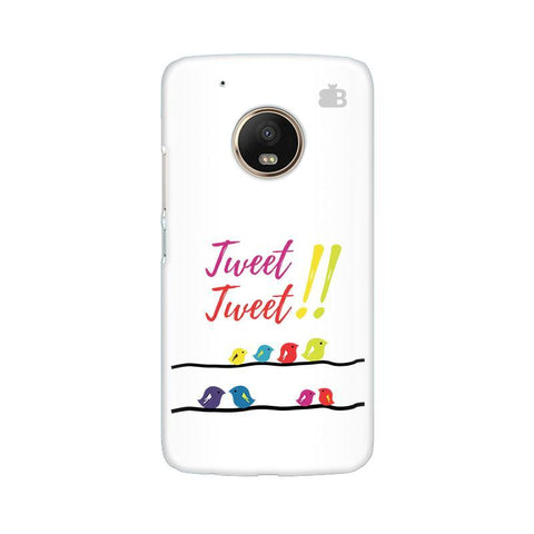 Tweet Tweet Moto G5 Phone Cover