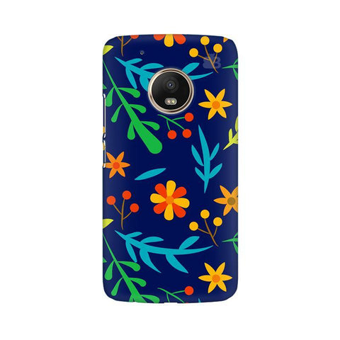 Vibrant Floral Pattern Moto G5 Phone Cover