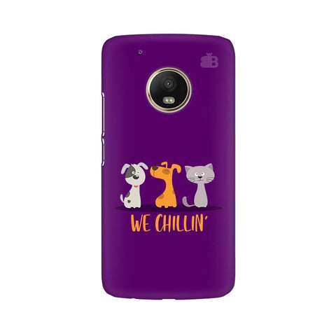 We Chillin Moto G5 Phone Cover