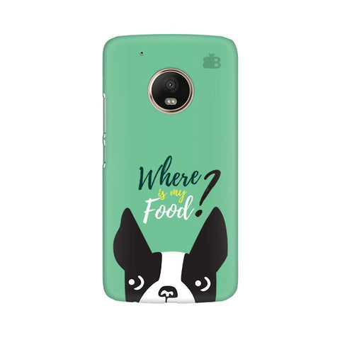 Where is my Food Moto G5 Phone Cover