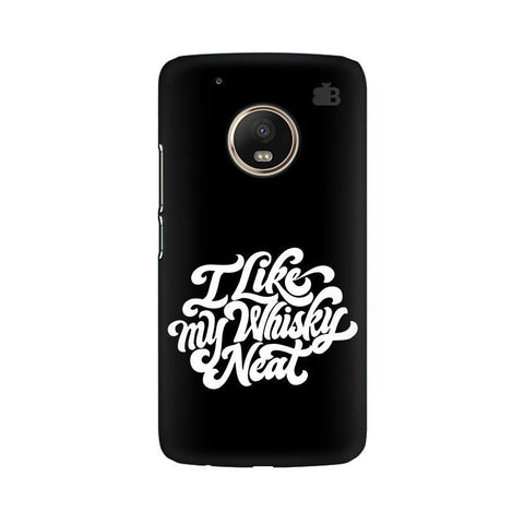 Whiskey Neat Moto G5 Phone Cover
