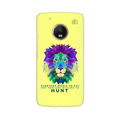 Willing to Hunt Moto G5 Phone Cover