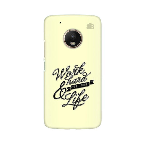 Work Hard Moto G5 Phone Cover