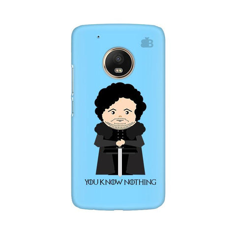 You Know Nothing Moto G5 Phone Cover