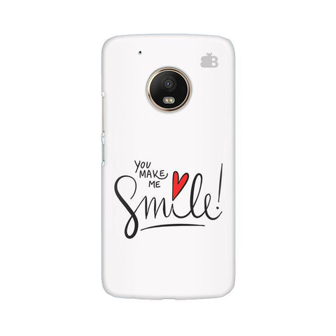 You make me Smile Moto G5 Phone Cover