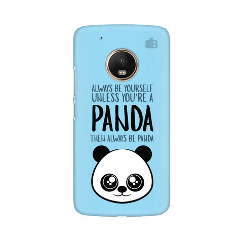 Always be panda Moto G5 Plus Phone Cover