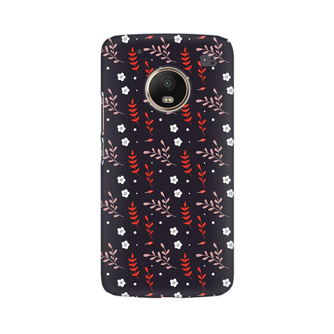 Autumn Floral Pattern Moto G5 Plus Phone Cover