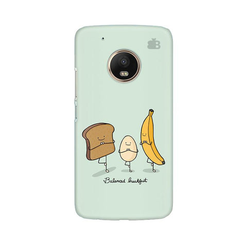 Balanced Breakfast Moto G5 Plus Phone Cover