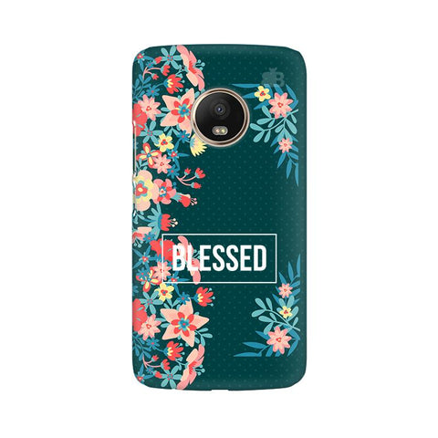 Blessed Floral Moto G5 Plus Phone Cover
