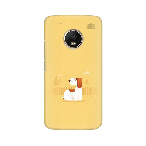 Calm Dog Moto G5 Plus Phone Cover