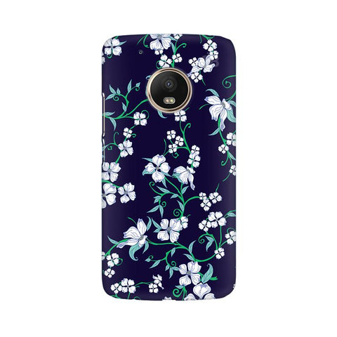 Dogwood Floral Pattern Moto G5 Plus Phone Cover