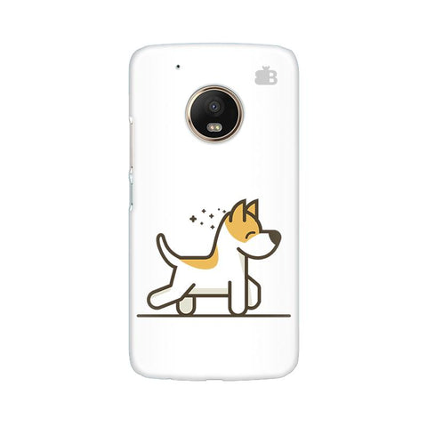 Happy Puppy Moto G5 Plus Phone Cover