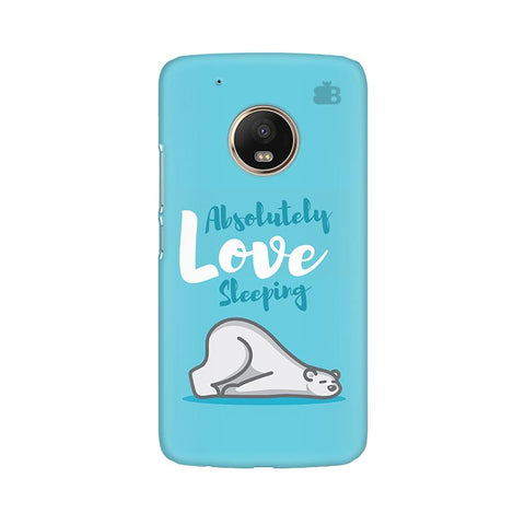 Love Sleeping Moto G5 Plus Phone Cover