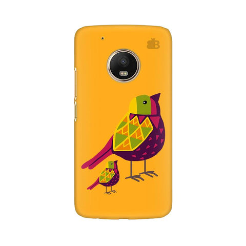 Mom Kid Bird Moto G5 Plus Phone Cover