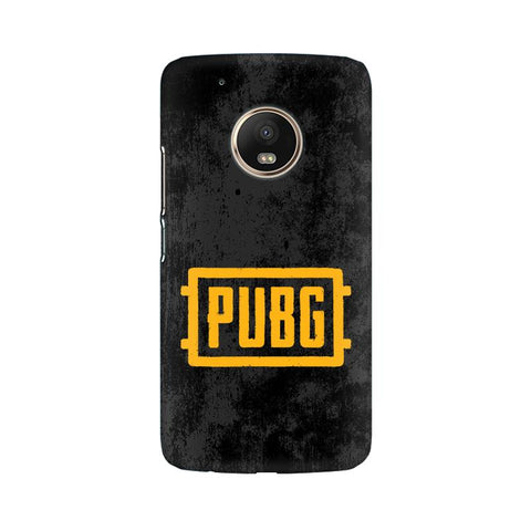 PUBG Moto G5 Plus Cover