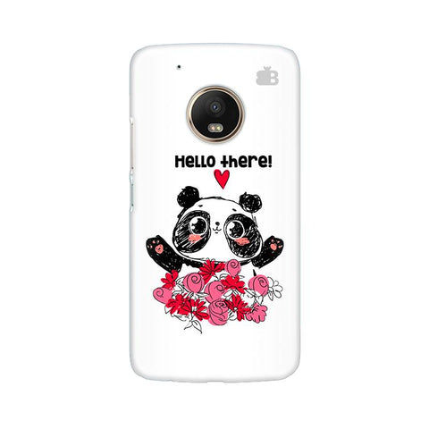 Panda Hello Moto G5 Plus Phone Cover