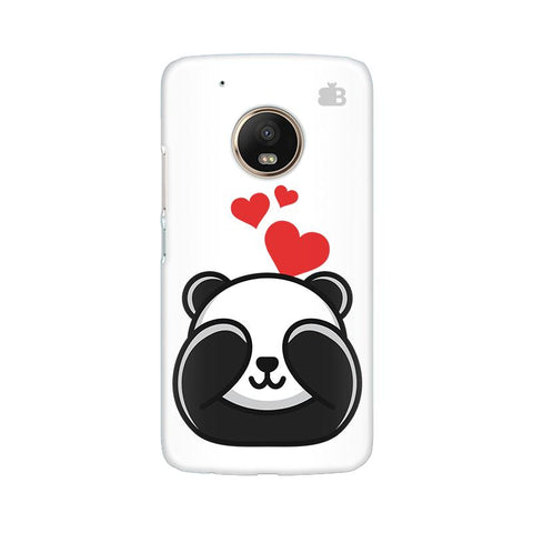 Panda In Love Moto G5 Plus Phone Cover