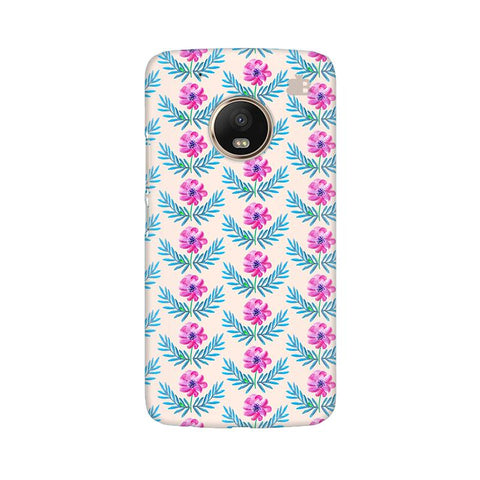 Pink Watercolor Pattern Moto G5 Plus Phone Cover