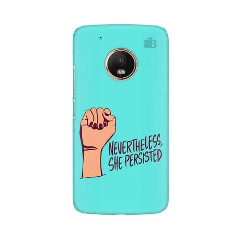 She Persisted Moto G5 Plus Phone Cover
