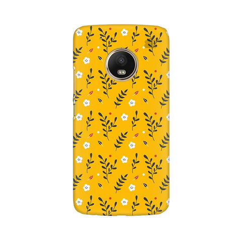 Summer Floral Pattern Moto G5 Plus Phone Cover