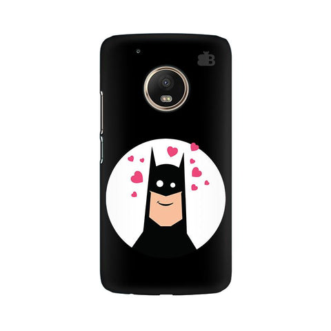 Superhero in Love Moto G5 Plus Phone Cover