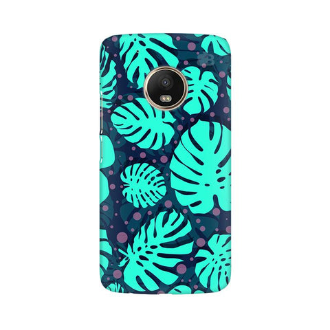 Tropical Leaves Pattern Moto G5 Plus Phone Cover