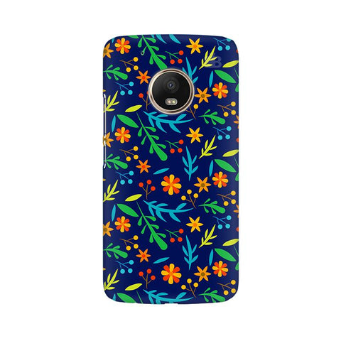 Vibrant Floral Pattern Moto G5 Plus Phone Cover