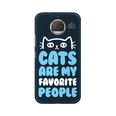 Cats favorite People Moto G5s Phone Cover