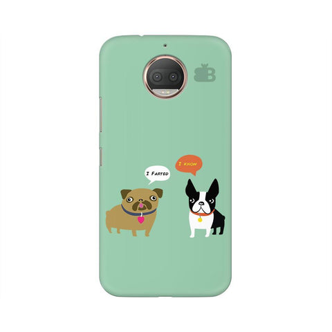 Cute Dog Buddies Moto G5s Phone Cover