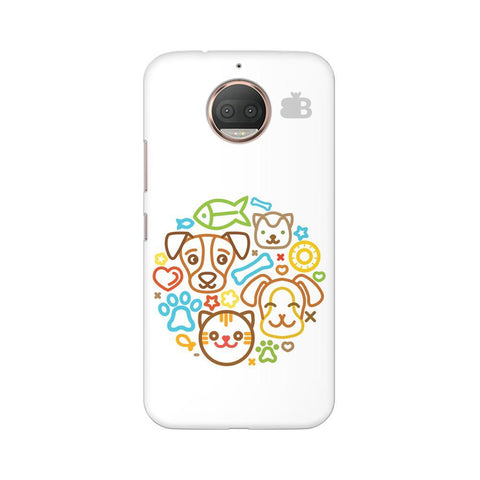 Cute Pets Moto G5s Phone Cover