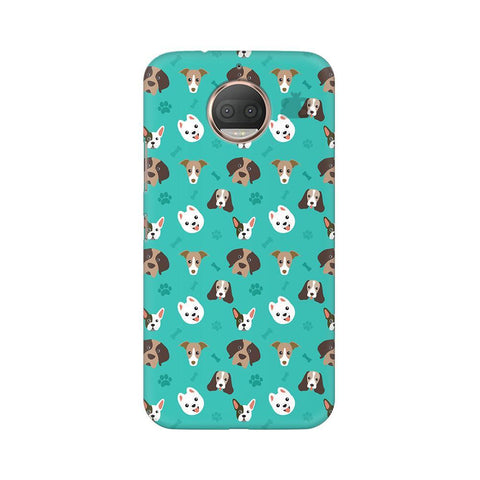 Doggie Pattern Moto G5s Phone Cover