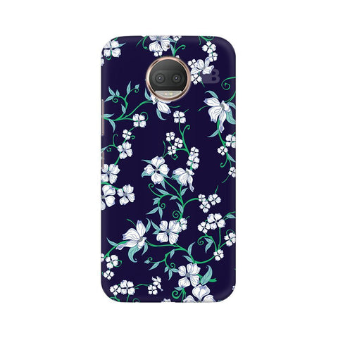 Dogwood Floral Pattern Moto G5s Phone Cover