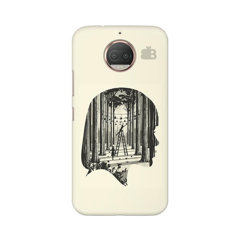 Double Exposure Moto G5s Phone Cover