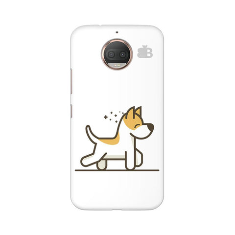 Happy Puppy Moto G5s Phone Cover