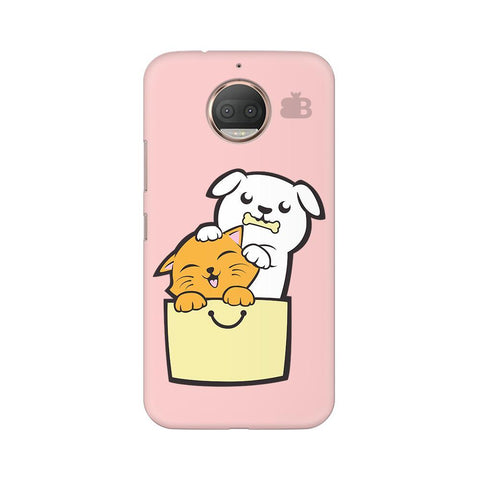 Kitty Puppy Buddies Moto G5s Phone Cover
