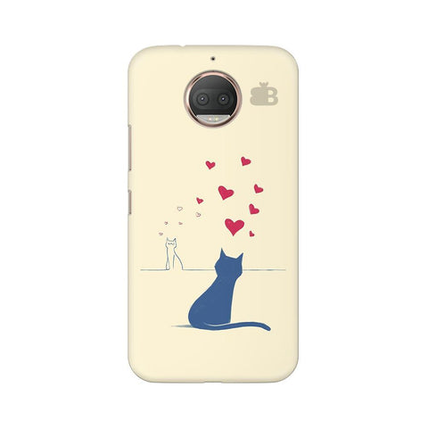 Kitty in Love Moto G5s Phone Cover