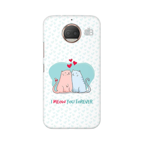 Meow You Forever Moto G5s Phone Cover