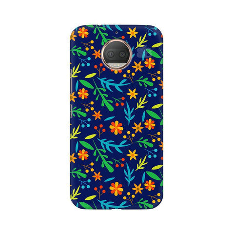 Vibrant Floral Pattern Moto G5s Phone Cover
