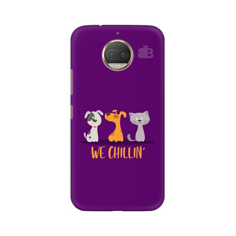 We Chillin Moto G5s Phone Cover