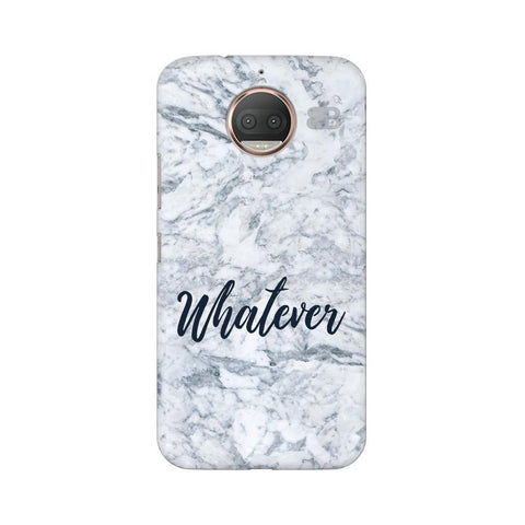 Whatever Moto G5s Phone Cover