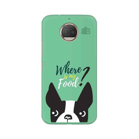 Where is my Food Moto G5s Phone Cover
