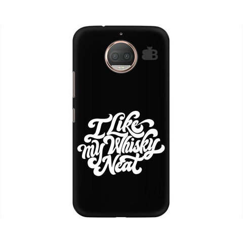 Whiskey Neat Moto G5s Phone Cover
