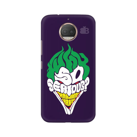 Why So Serious Moto G5s Phone Cover