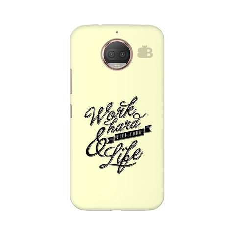 Work Hard Moto G5s Phone Cover