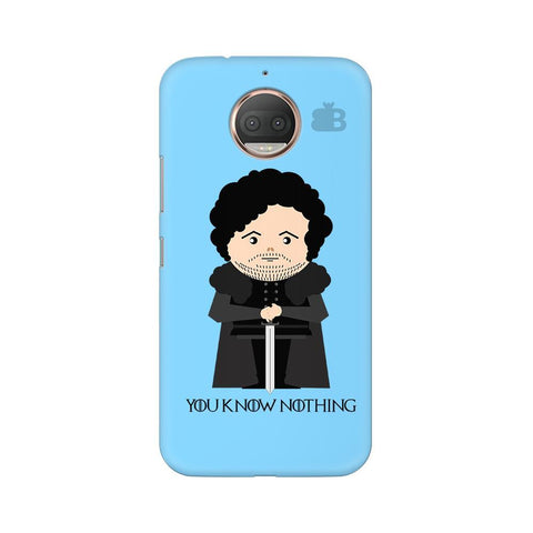 You Know Nothing Moto G5s Phone Cover
