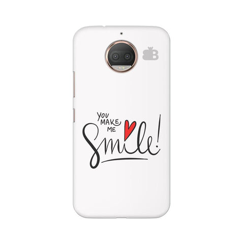 You make me Smile Moto G5s Phone Cover