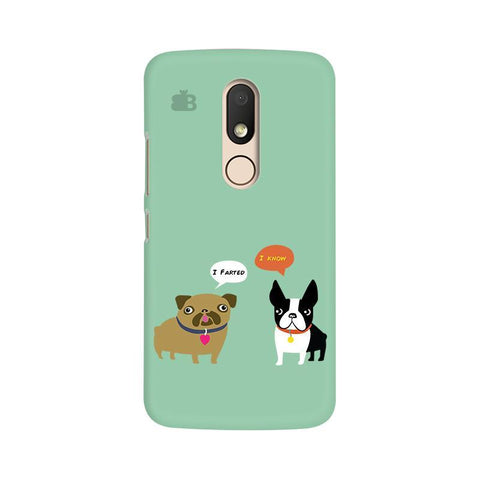 Cute Dog Buddies Moto M Phone Cover