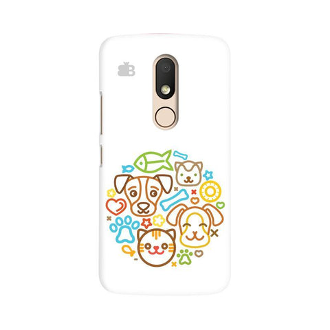 Cute Pets Moto M Phone Cover
